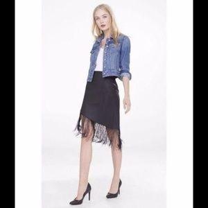 Express (Minus The Leather) Fringed Skirt 8